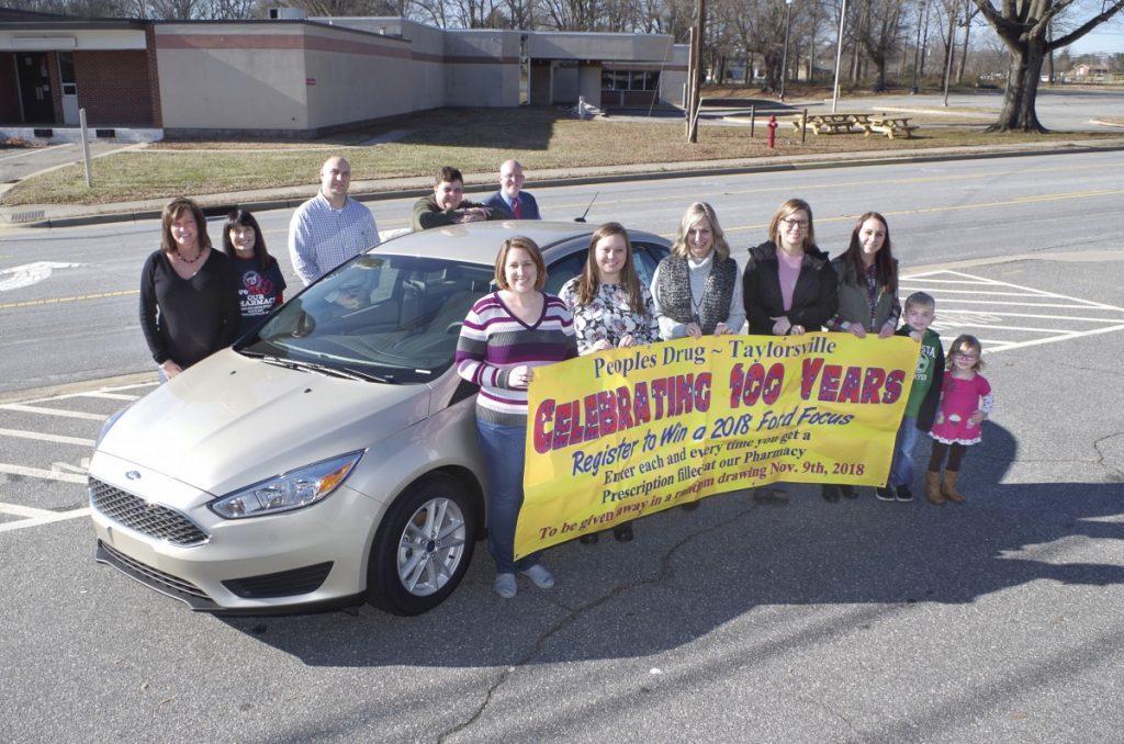 Peoples Drug owner plans car giveaway, more for centennial
