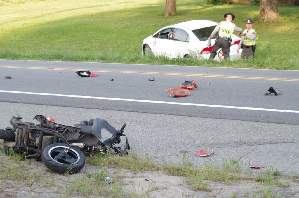 Scooter, car collide, man later dies – The Taylorsville Times