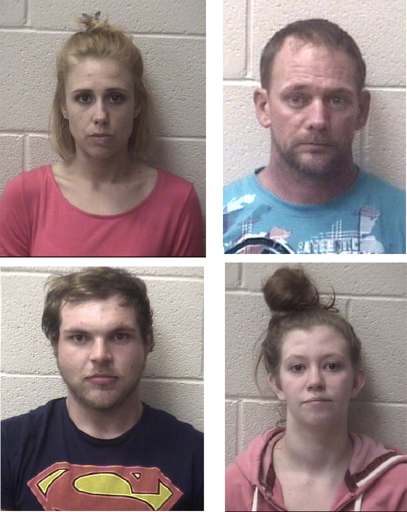 Four arrested in home search April 30 – The Taylorsville Times
