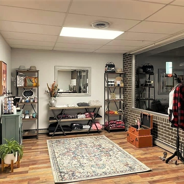 Destiny's Exclusive Shop opens in downtown Taylorsville. The interior of the shop is shown here.