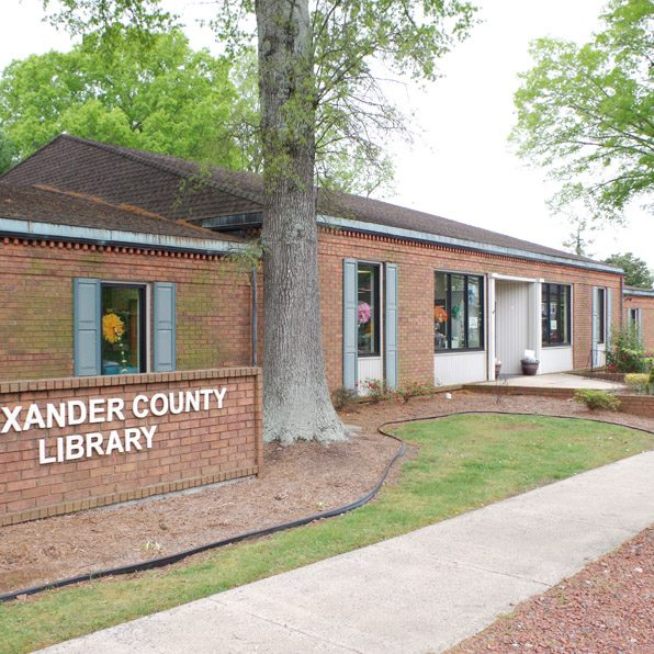 The Alexander County Library's Main facility, in Taylorsville, opened in March 1972, after being housed down the street in a former home, beginning in 1967.