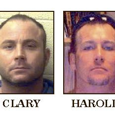Jason Clary (left) and the late Travis Harold (right).