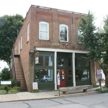 Example of a Local Landmark commercial building in Macon, NC