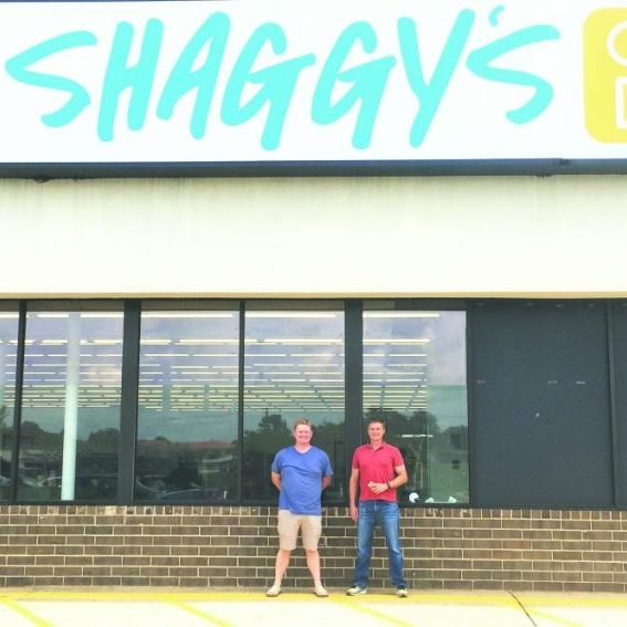 COMING SOON —Above, from left to right: owners Colin Martin and Ben Medlin plan to open Shaggy's Good Buys in Bethlehem soon.