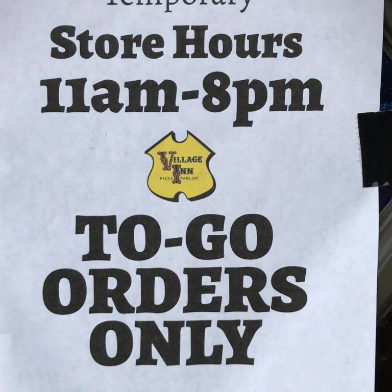 Many restaurants in the Taylorsville area are displaying signs like these, after Gov. Roy Cooper instituted a ban on seating customers in restaurants and bars to combat the spread of the COVID-19 Coronavirus.
