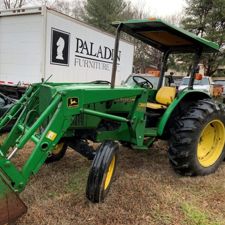 A tractor and Bush-hog were recovered, with a value of approximately $20,000.